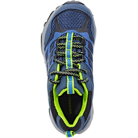 Merrell Moab Fst Low WP Shoes Children navy/blue